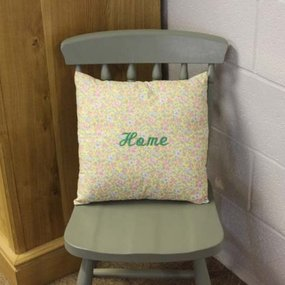 Embroidered Cushion -Home
