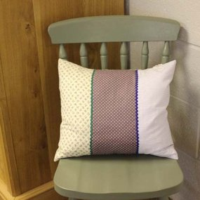 Shabby Chic Cushion-Feather Filled