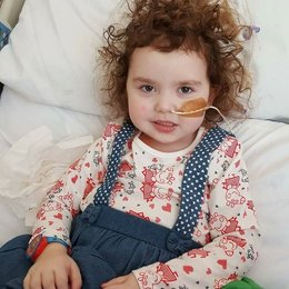 A fund to help a little princess battling a brain tumour reached a staggering £15,350 last night