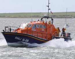 Barrow Lifeboat Crew Save Stricken Vessel