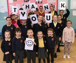 Sacred Heart thank kind-hearted locals for donating £1,831