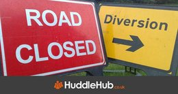 A5087 Ulverston Coastal Road closed due to flooding