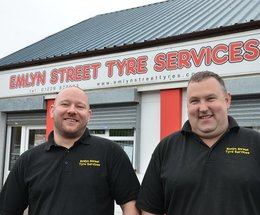 Emlyn Street Tyre Services in Barrow celebrates 10 YEARS in business!