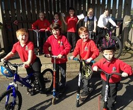 Dozens of Cumbrian schools geared up for The Big Pedal!