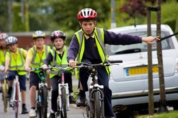 Making cycling safer for thousands of school children in Cumbria