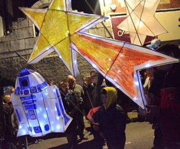 Ulverston Lantern Festival holds out of this world evening