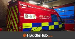 New Joint Incident Command Unit based at Walney Fire Station