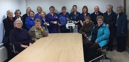 HEFF donate equipment to Furness General Hospital