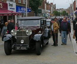 Classic Cars, Vintage Cars and Bikes Return to Barrow Town Centre this Weekend
