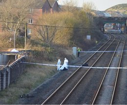 Police have discovered a dead body on the railway lines in Barrow