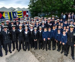 Barrow Sea Cadets – continue to ride the crest of success!