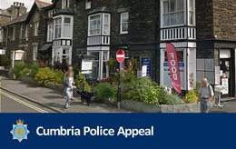 Appeal launched following attempted armed robbery in Ambleside