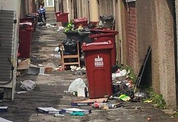 Councillors to hold special meeting after rubbish strewn across Barrow