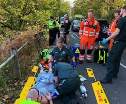 Triathlete airlifted by GNAAS for the second time in months