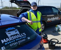 Barrow lad sets wheels in motion and launches new mobile valeting company