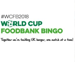 Barrow Foodbank asks local people to take part in World Cup Foodbank Bingo this summer