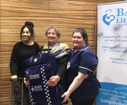 Wigton midwife joins forces with Call the Midwife stars