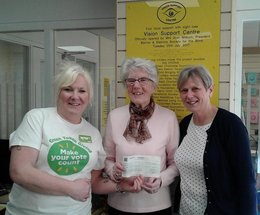 Community kindness cheques presented to local charities