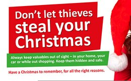 Police urge public to be vigilant of festive thieves