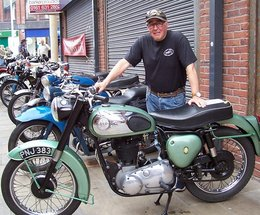 Furness British Motorcycle Club at Barrow Festival of Transport