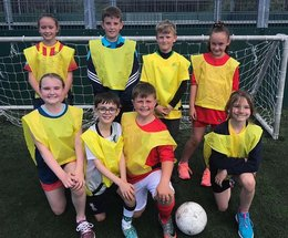 Sacred Heart School holds World Cup Day to raise funds for IT equipment