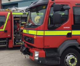 Walney fire crew called to Egerton Court flats in Barrow