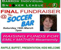 Kind hearted lads plan event for poorly local girl