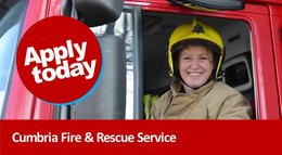 On-Call Firefighters needed in Cumbria - APPLY TODAY!