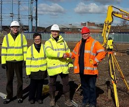 Barrow Training Partnership break ground for their new training centre in Carlisle