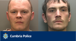 Wigton knife robbery pair jailed for six years each