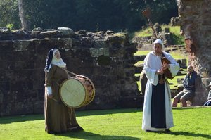 Medieval Fair at Furness Abbey 2017